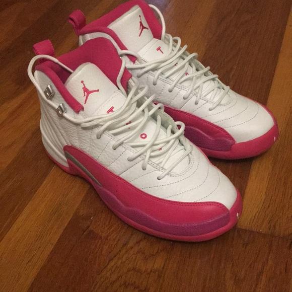 Jordan Shoes | White And Pink Jordans